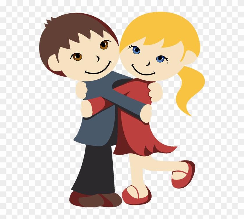 Hugs Clipart Free U0026middot Celebrate National Hugging - Hug Clipart Png #25952