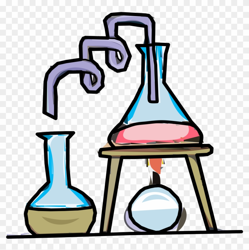 Big Image - Science Test Tube Clipart #26023