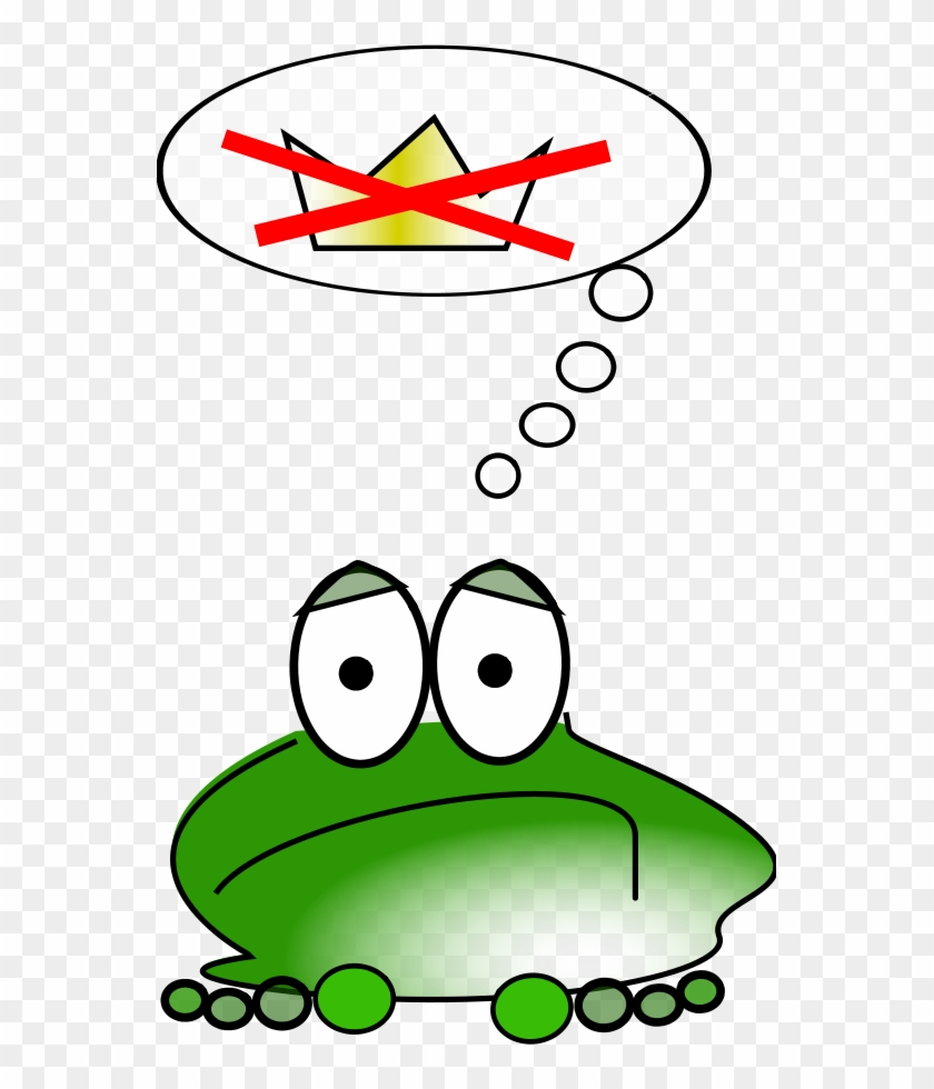 Frog And Toads Clipart - Grenouille Triste #26032
