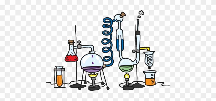 Png Lab Equipment Transparent Lab Equipment - Cartoon Lab Set Up #26036