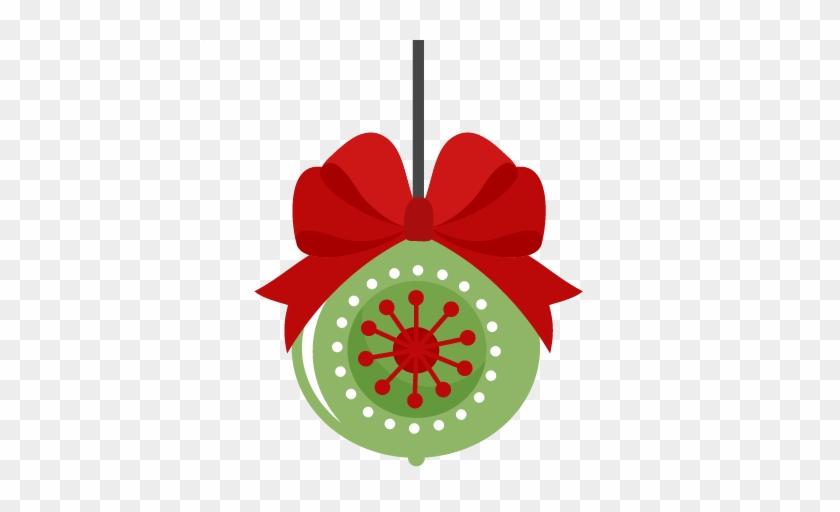 Pretty Ideas Ornament Clipart Christmas Scrapbook Cut - Cute Christmas Ornament Clipart