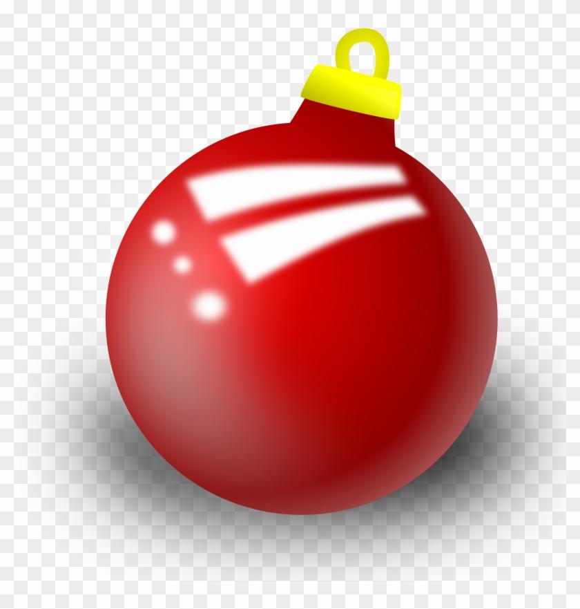 Clipart - Xmas Ornament - Christmas Ornament Clipart #26060