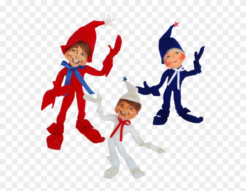 Patriotic Elf Trio - Elf #26075