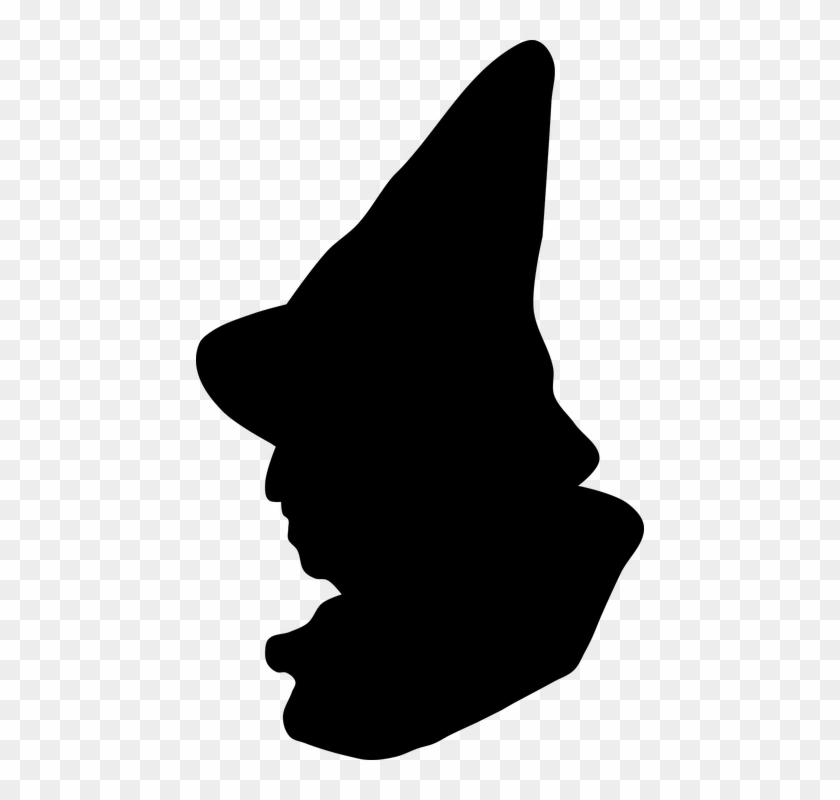 Brains Scarecrow Clipart - Wizard Of Oz Silhouette Png #26095