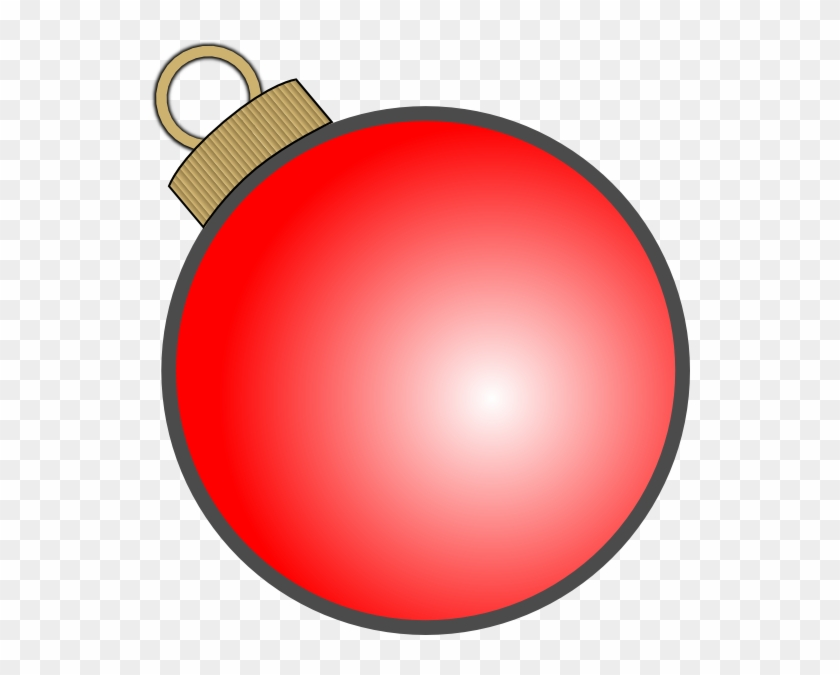 Xmas Ornaments Thin Outline Clipart Christmas Ball Ornament Vector
