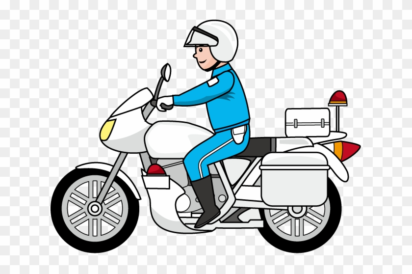 Cop Clipart Police Tool - Police Motorcycle Clipart #26108