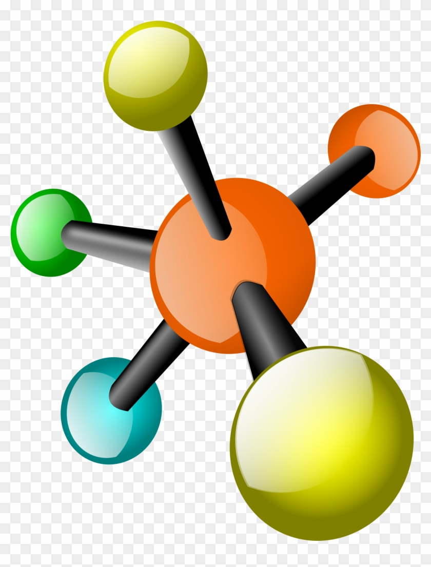 Free Vector Molecules - Organic Chemistry Clip Art #26123