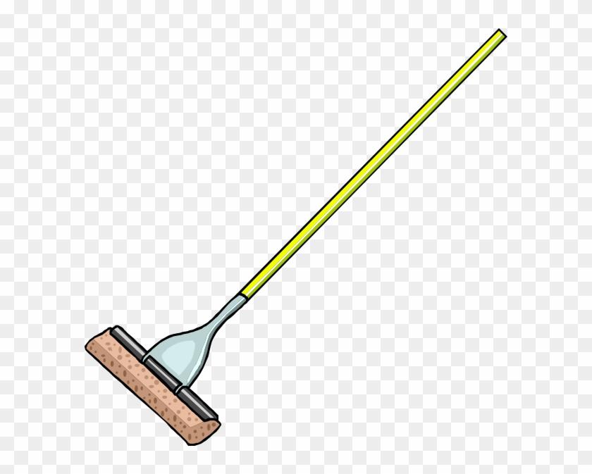 Mop Clip Art At Clker - Mop Clipart #26170