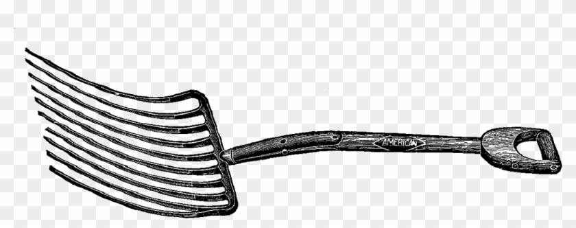 Living On A Farm, Or On Lots Of Acreage, One Of These - Vintage Farm Tools Clipart #26190