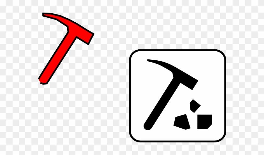 Mining Tools Clipart - Rock Hammer Clip Art #26235