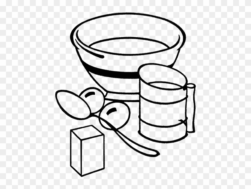 Kitchen Tools Clipart Black And White - Cooking Clip Art Black And White #26251