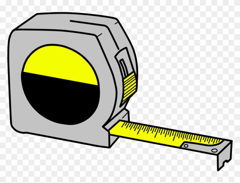 Minimal Tape Measure Vector - Tape Measure Clipart Transparent #26267