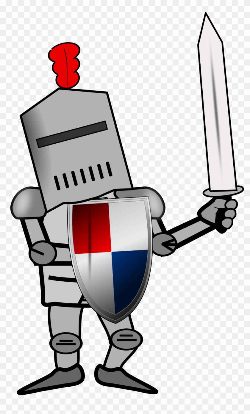 Combattant - Ritter Clip Art #26293