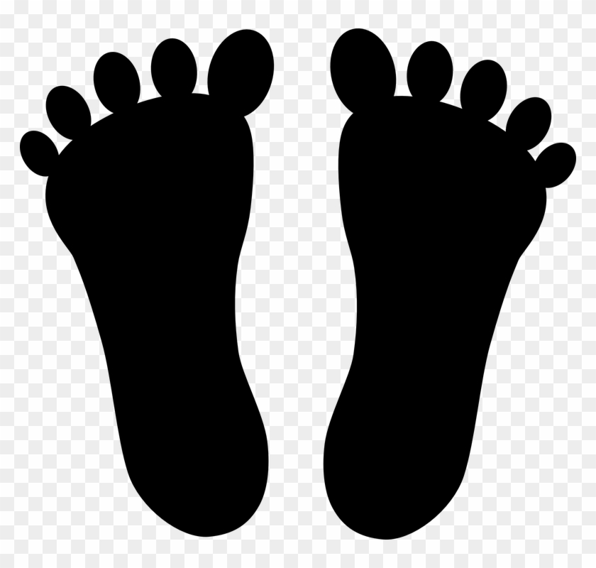 Walking - Foot Image Clip Art #26341