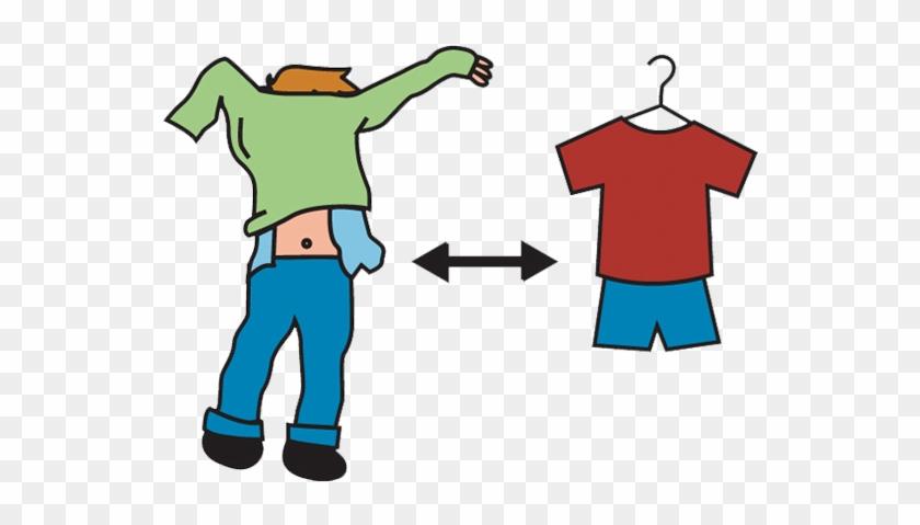 Change Clothes - Change Clothes Clipart #26351