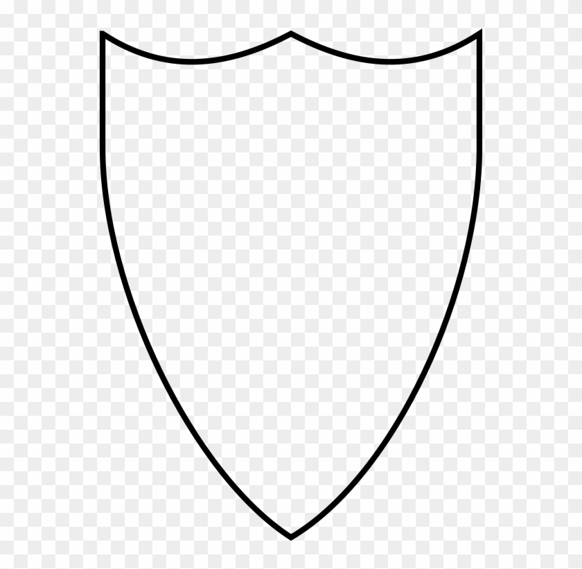 Free Clipart Swiss Shield Victorwestmann - Shield Coloring Page #26382