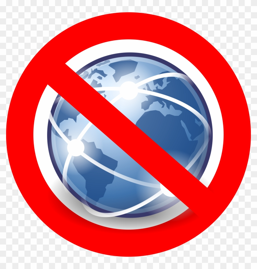 No Internet Clipart - No Internet Icon Png #26399