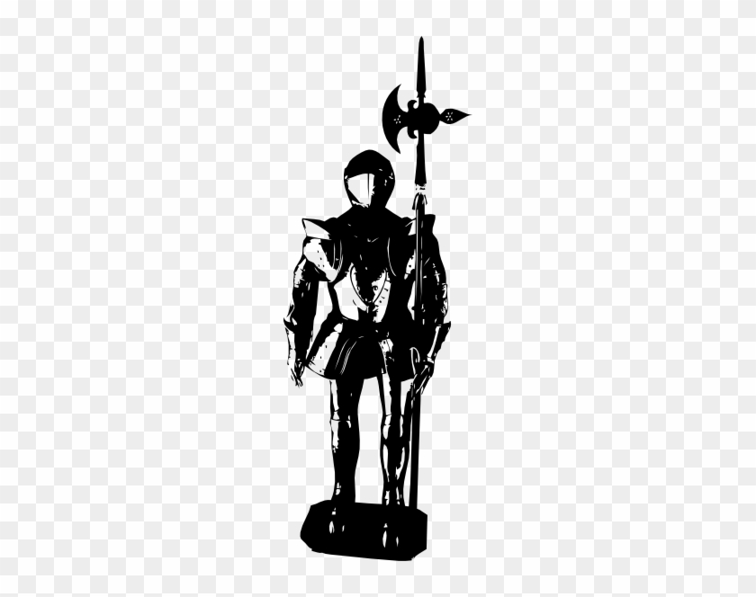 Suit Of Armour Silhouette #26430