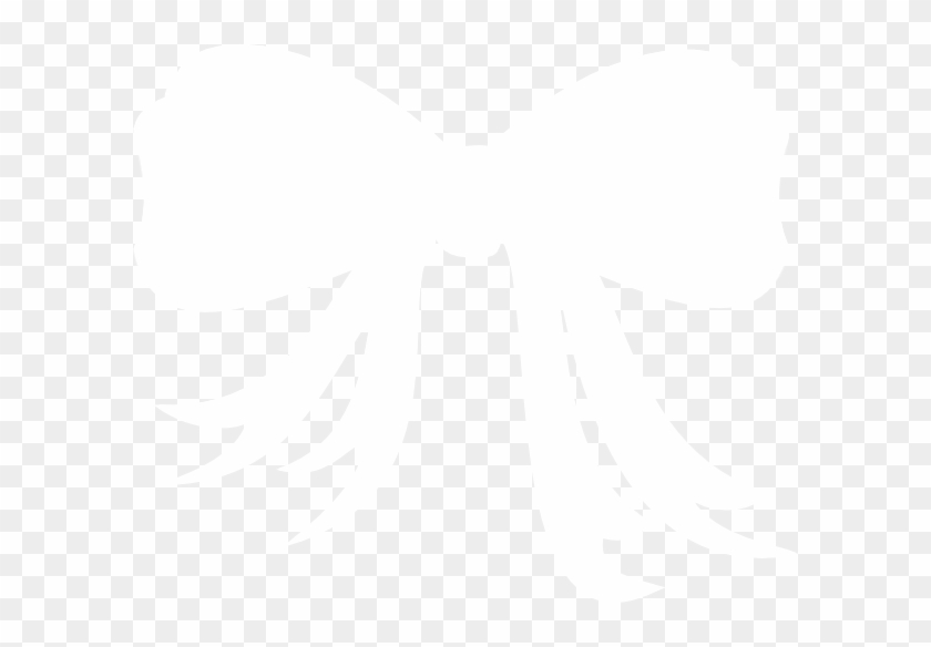White Bow Clipart #26462