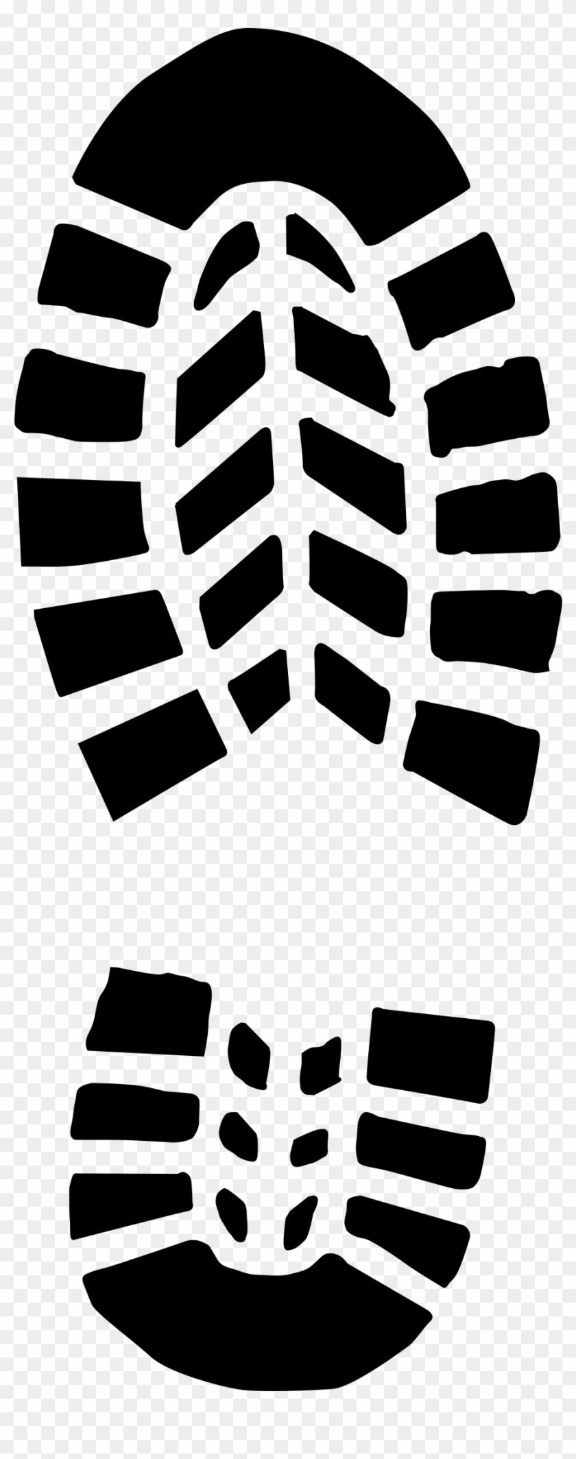 Boot Print Clip Art At Clker - Boot Print Clipart #26492