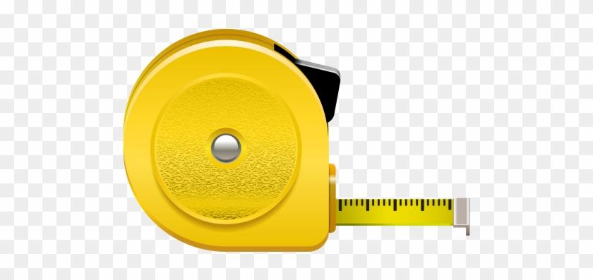 Roulette Meter Png Clip Art - Tape Measure Clipart Png #26531