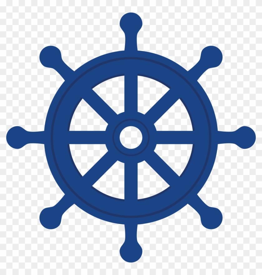 Nautical Clipart - Free Ship Wheel Vector #26552