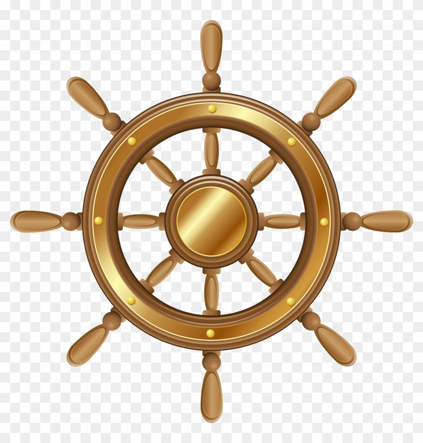 Nautical Clip Art, Perfect For Diy Creative Projects - Boat Steering Wheel Png #26576
