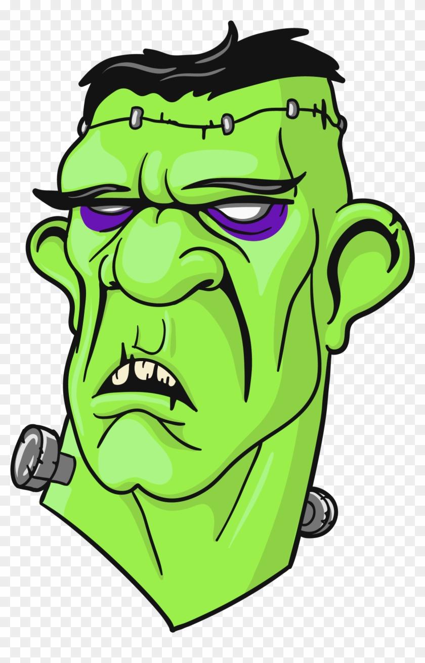 Frankenstein Head Clipart - Frankenstein Head Png #26582