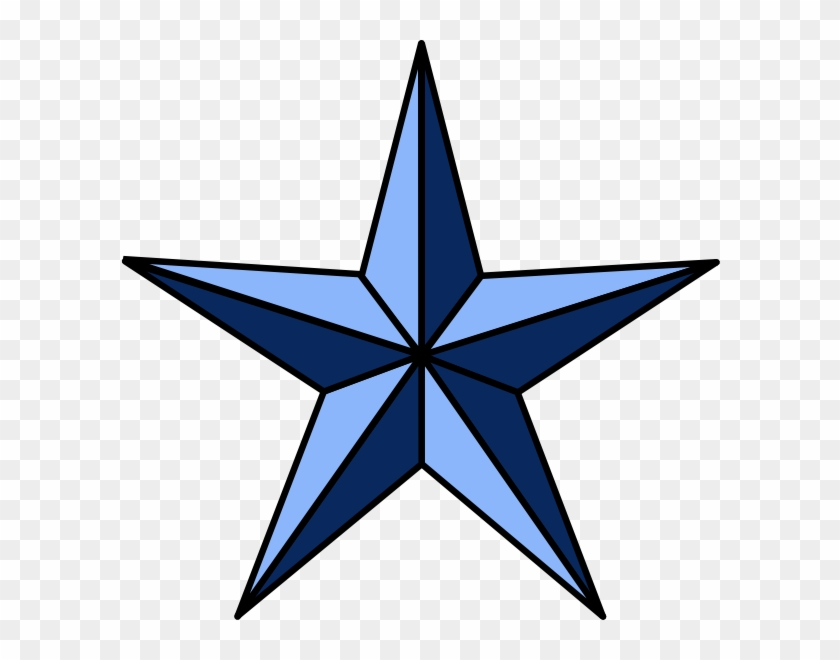 Original Png Clip Art File Wla Nautical Star Svg Images - 5 Point Star #26580