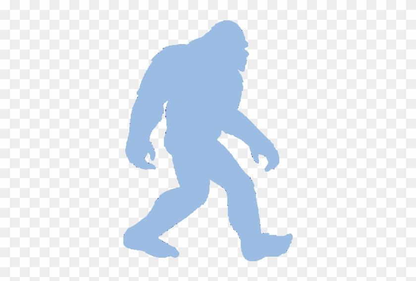 Bigfoot Light Blue - Bigfoot Decal #26581