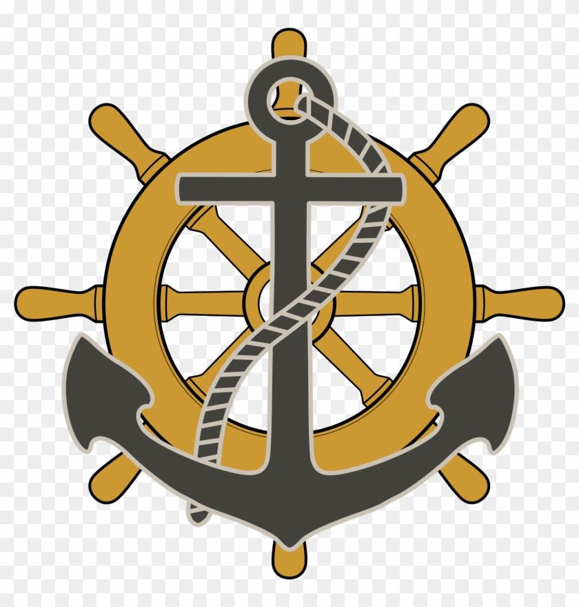 Marine Engineering - Ship Wheel Anchor Png #26614