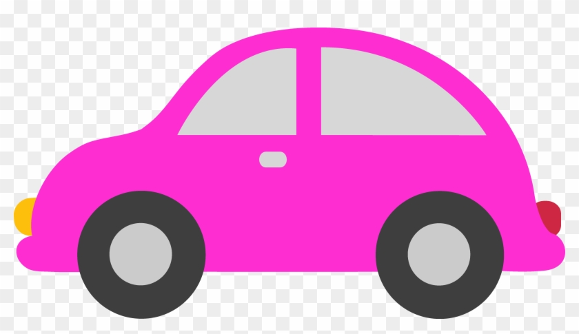 Pink Toy Car Clipart By Liz - Transparent Background Car Clipart #26653