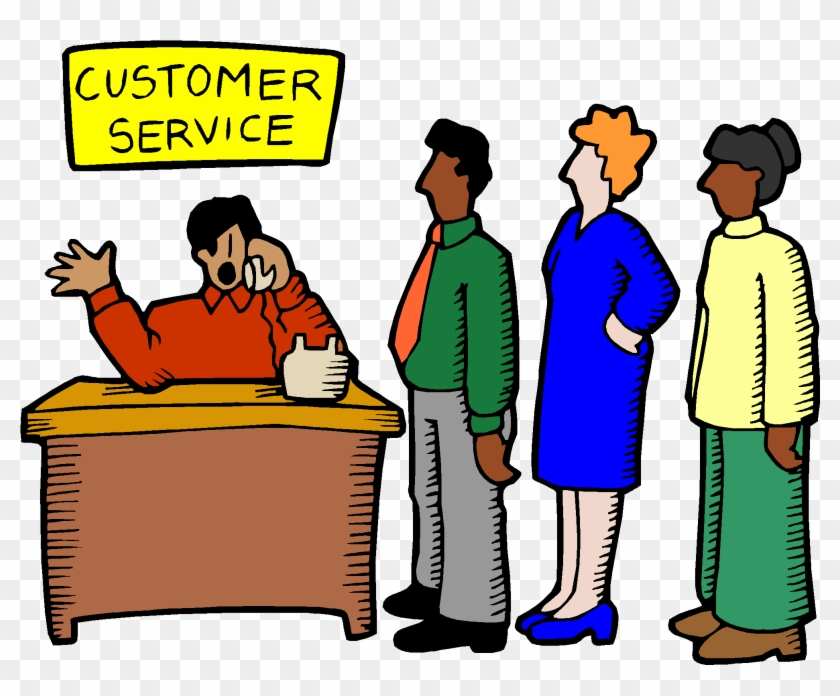Think Of Online Stewardship As Customer Service Via - Customer Service Desk Clipart #26827