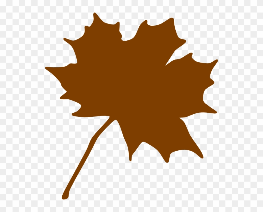 Foliage Clipart Brown Leaf - Maple Leaf Clip Art #26831