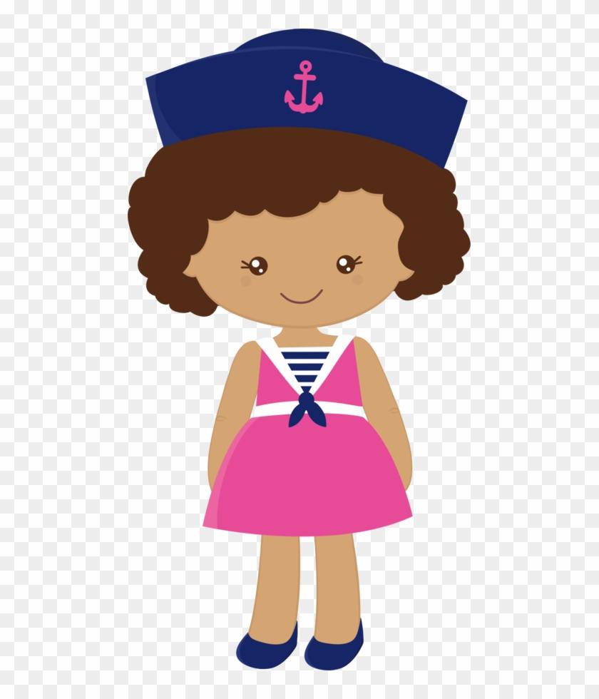 Royal Marinesnautical Partyscrapdo Artanchorsprofile - Sailor Girl Clipart #26895