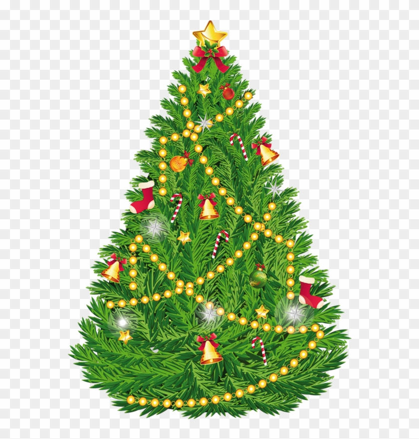 Christmas Tree Clipart Transparent - Clip Art Christmas Tree #26904