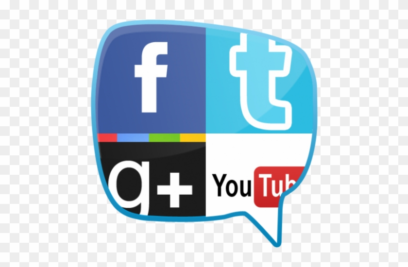 Internet Safety - Social Networks - Social Media Logo In One #26909
