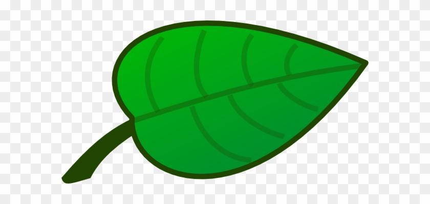 Flower Leaf Clip Art - Cartoon Pictures Of Leaf #26939