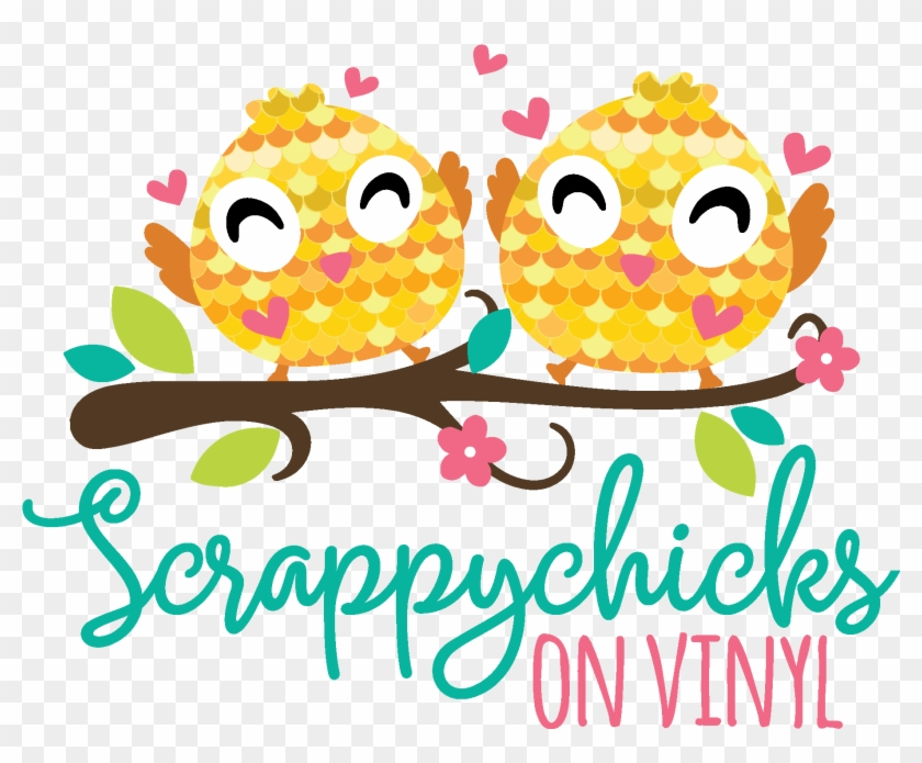 Scrappychicks On Vinyl - Watercolor Painting #26968
