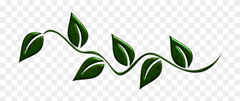 Green Leaves Png By Melissa-tm - Portable Network Graphics #26974