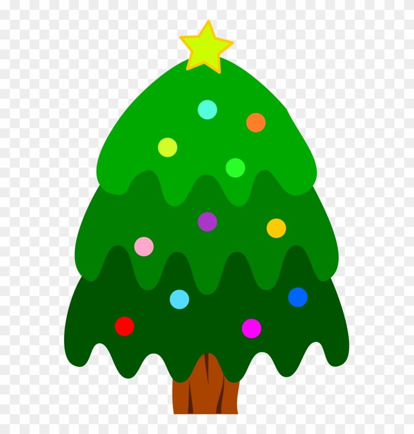 Christmas Tree - Clip Art Christmas Tree #26984