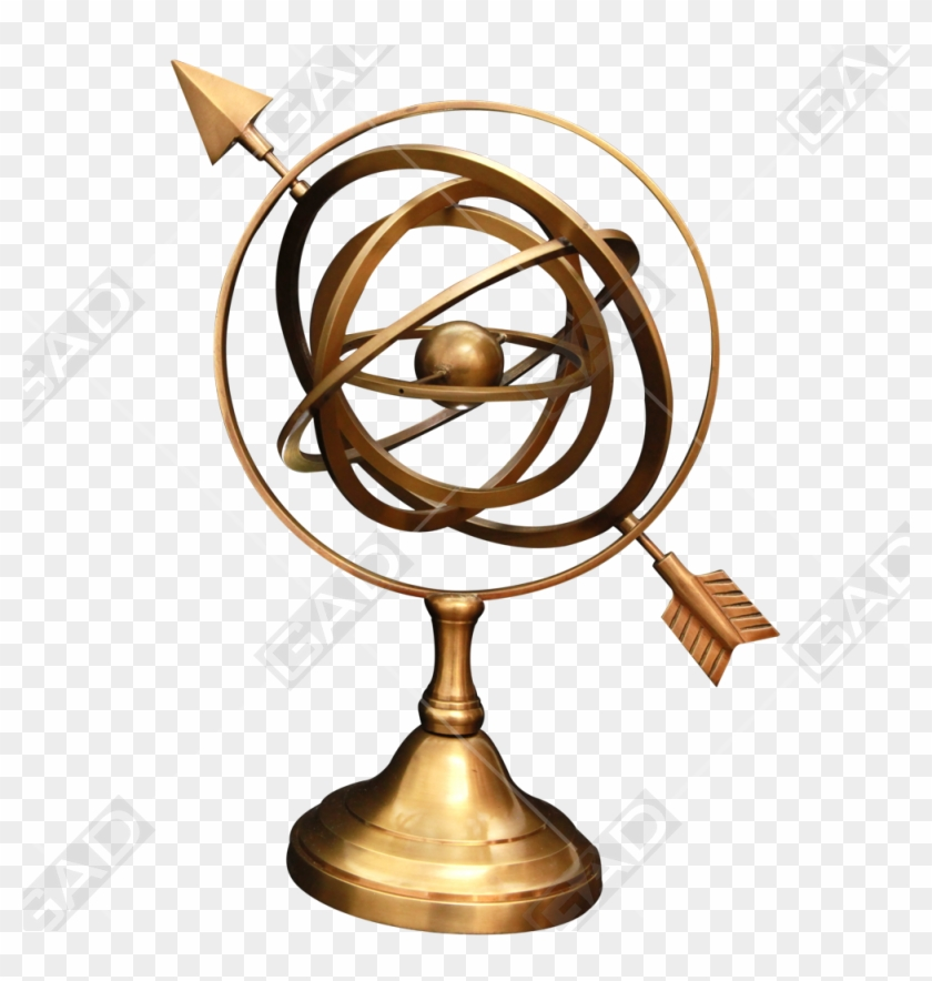 Nautical Brass Antique Finished Armillary Sphere - Goods #26996