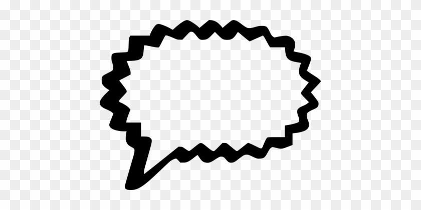 Bubble, Speech, Talk, Words, Thinking - Comic Word Bubble #164220