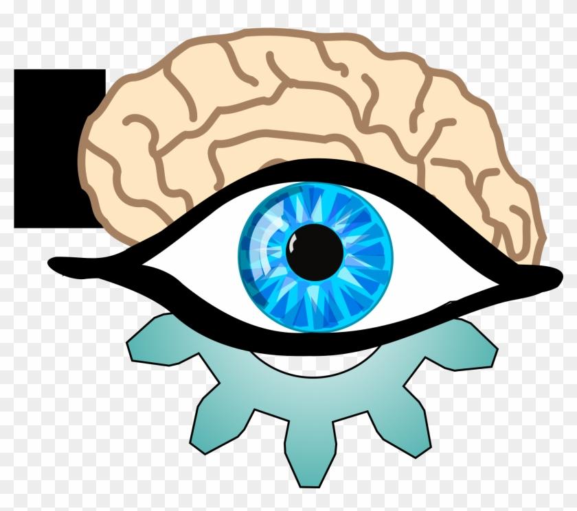 Brain Clipart Eye - Blue Eye #164242