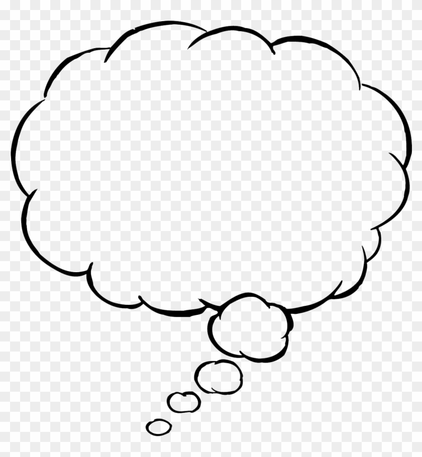 Thought Bubble Png Transparent Images - Thought Bubble Png #164264