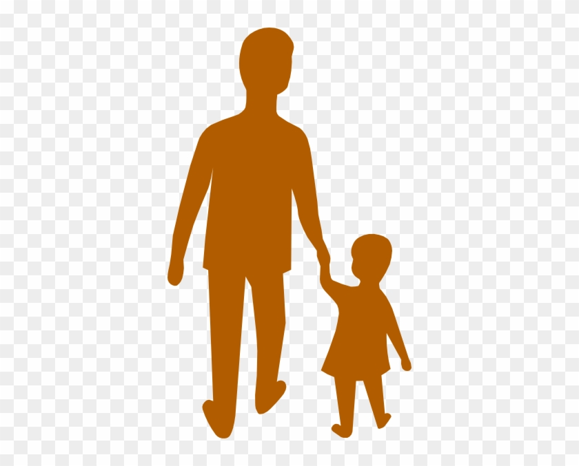 Purple Adult Child Holding Hands Clip Art - Holding Hands With An Adult Clipart #164429