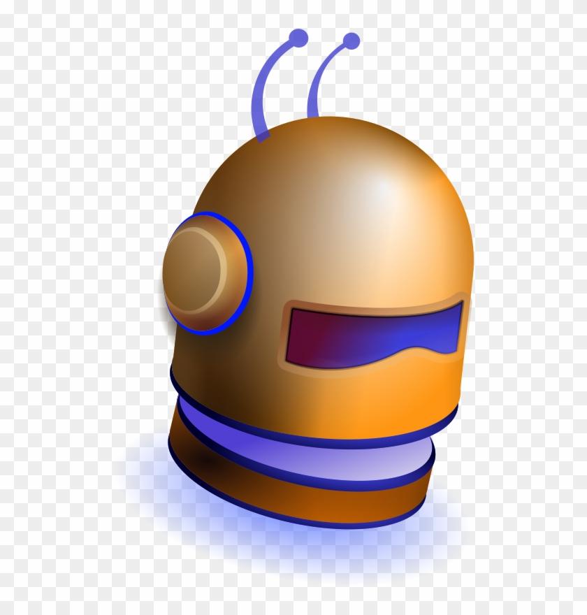 Image For Robot Helmet Clip Art - Robot #164546