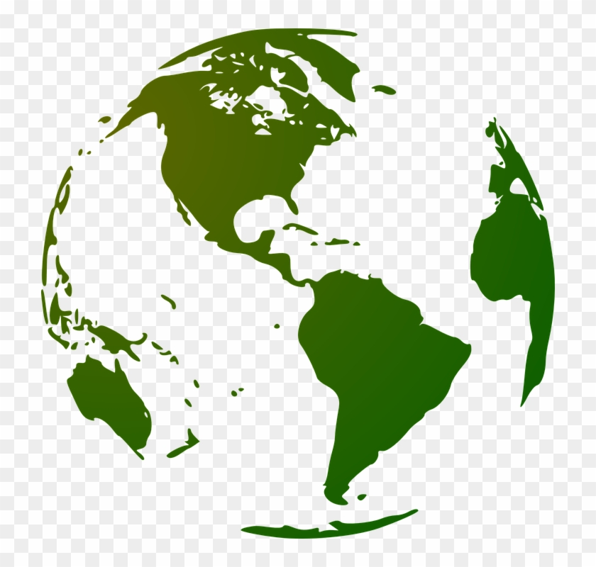 Globe Earth Continents Planet Blue Planet World - North And ...