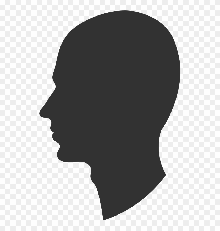 Face Side View Silhouette