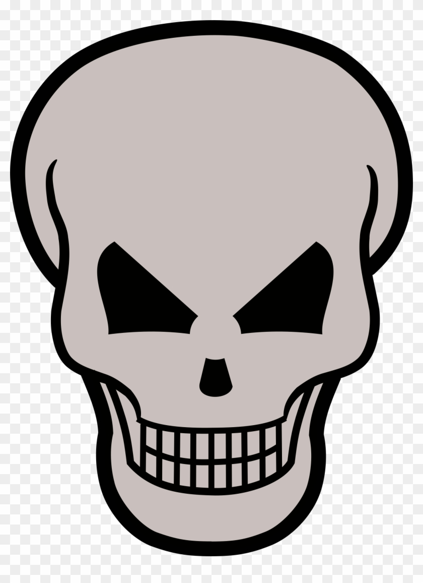 See Here Skull Clipart Transparent Background - Skull And Crossbones #165070